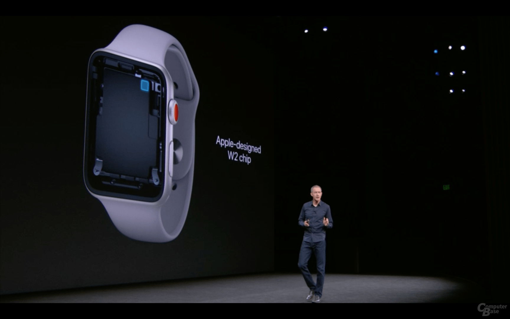 Apple Watch Series 3 mit LTE/UMTS-Modem im Apple W2