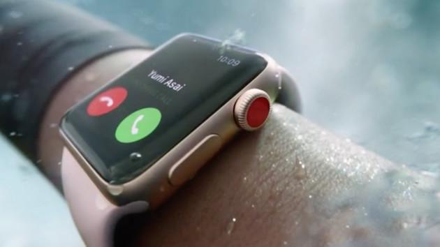 Apple Watch Series 3: 70 Prozent schneller und (optional) mit Mobilfunk