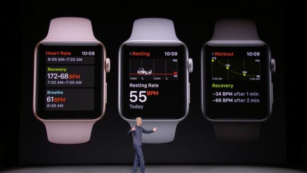 Apple: Update auf watchOS 4 am 19. September verfügbar
