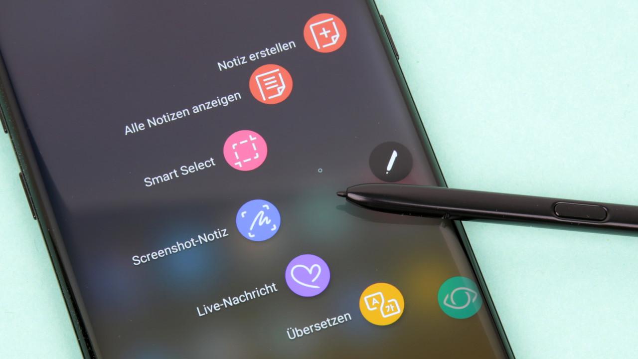 Neue Firmware: Galaxy Note 8 erhält Update zum Marktstart