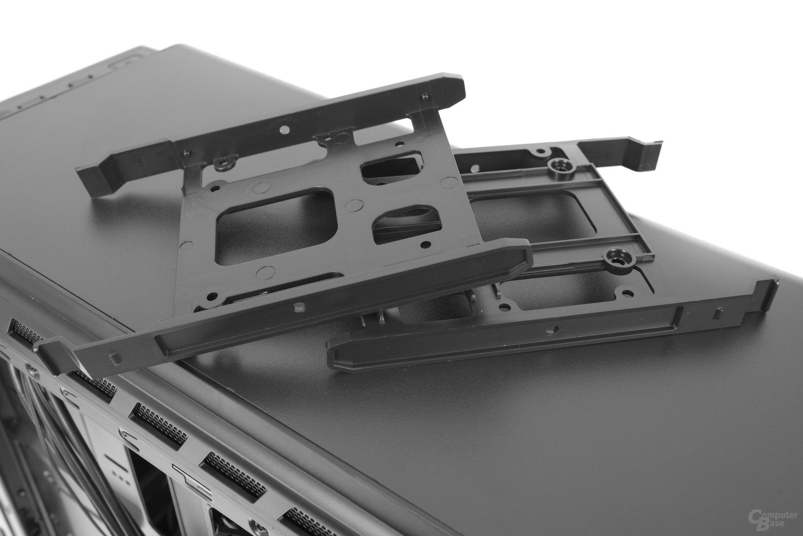 Enermax GraceFun – Die Festplattenschienen im Detail
