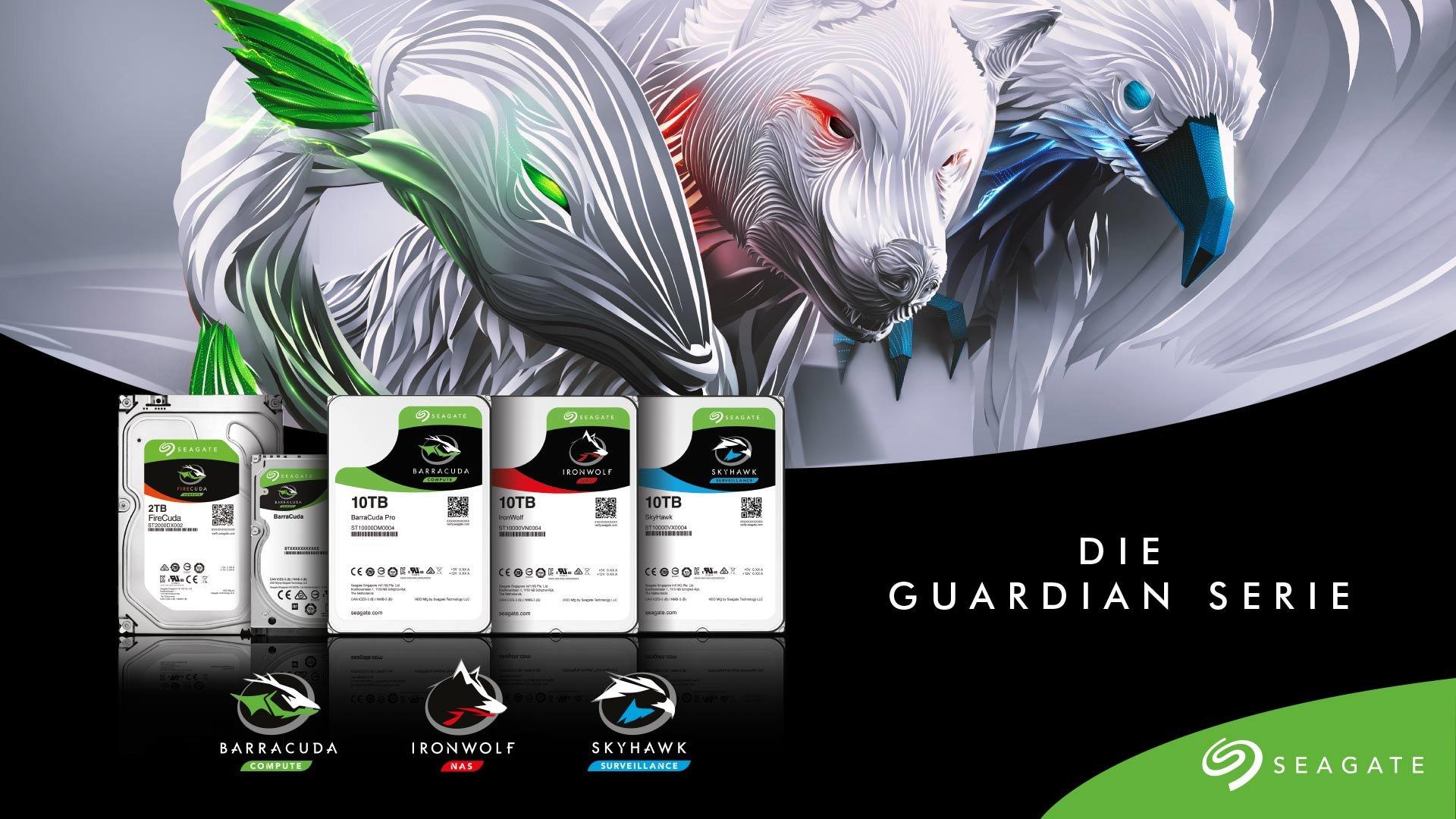 Die Guardian-Serie von Seagate: Interne HDDs für jeden Zweck