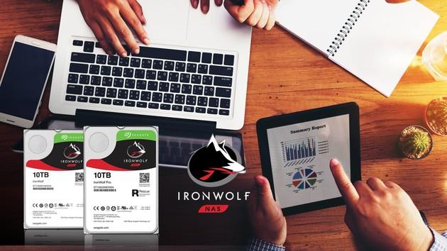 IronWolf: Festplatten mit höchster Zuverlässigkeit für NAS [Gesponsert]