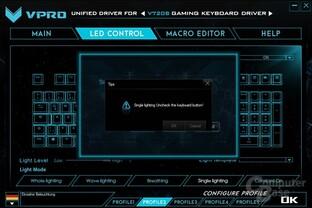 """Unverständliche Fehlermeldung: Was der """"Keyboard Button"""" ist, erklärt Vpro nicht"""