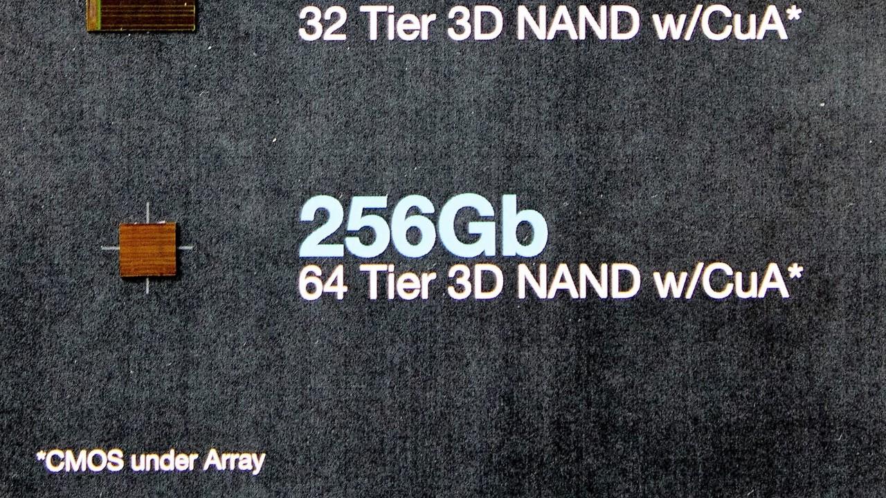 Flash-Speicher: Intel liefert Server-SSDs mit 64-Layer-3D-NAND aus