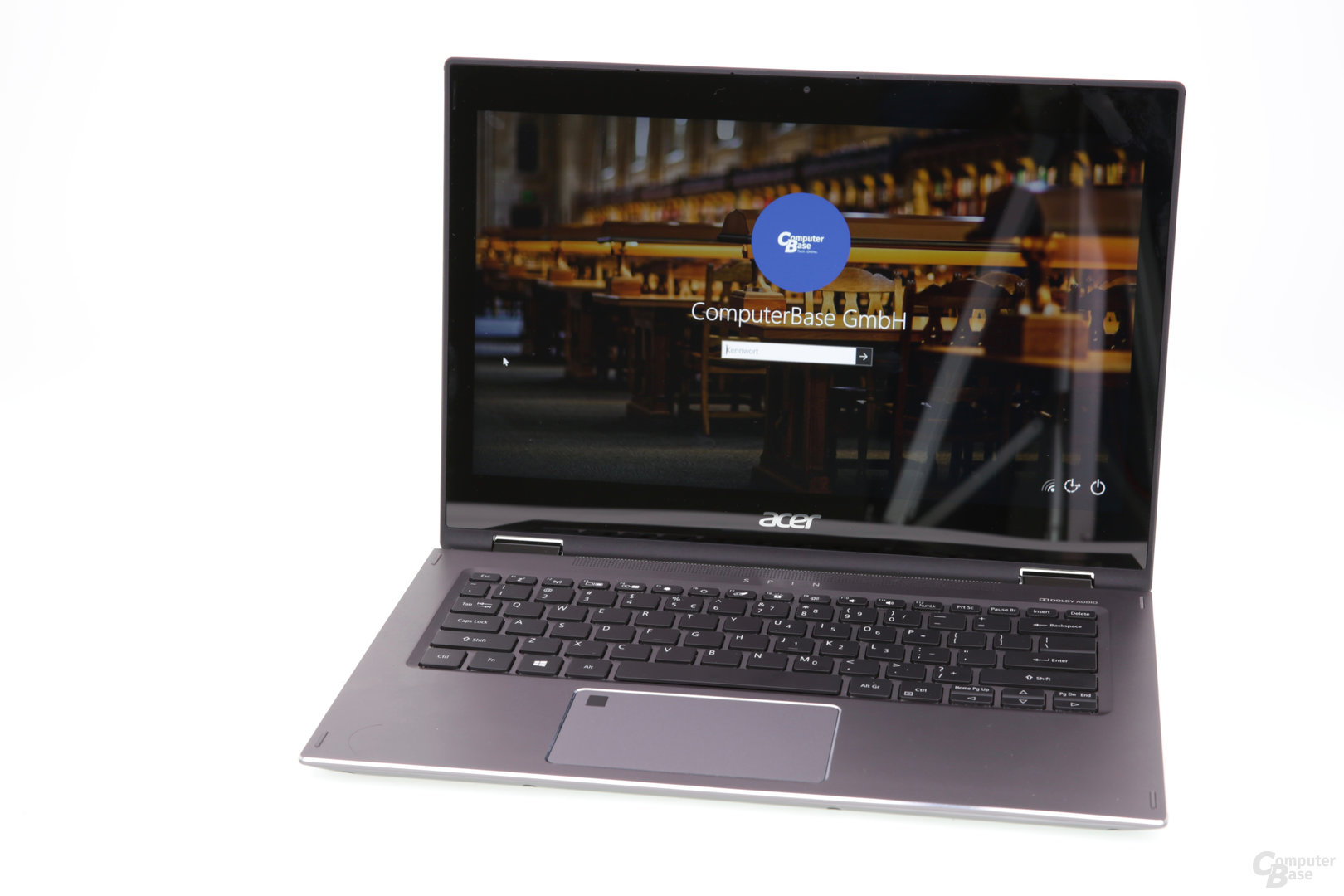 Das Acer Spin 5 2017 mit Core i5-8250U