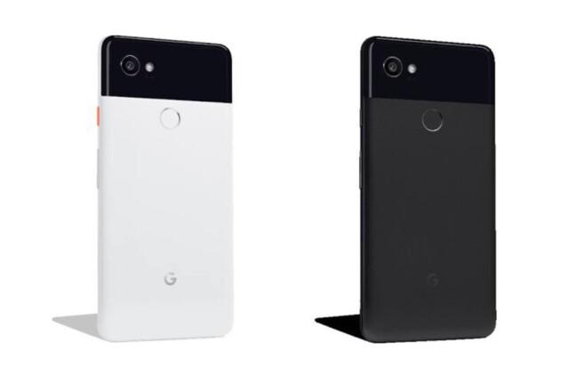 """Das neue Pixel 2 XL in """"Schwarz & Weiß"""" sowie """"Nur Schwarz"""""""