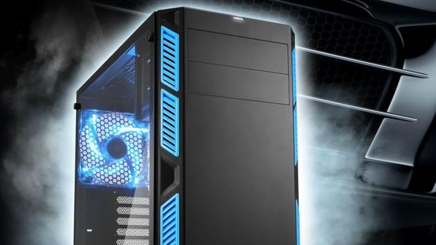 Sharkoon AI7000: Midi-Tower kann leise oder belüftet