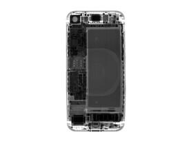 iPhone 8 – Röntgenbild der Spule für drahtloses Laden
