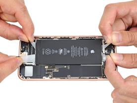 iPhone 8 – 4 Klebestreifen für den Akku