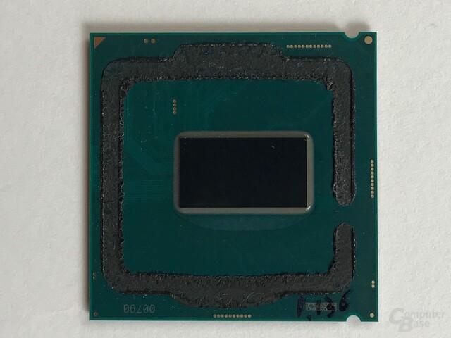 Intel Core i7-8700K ohne Heatspreader