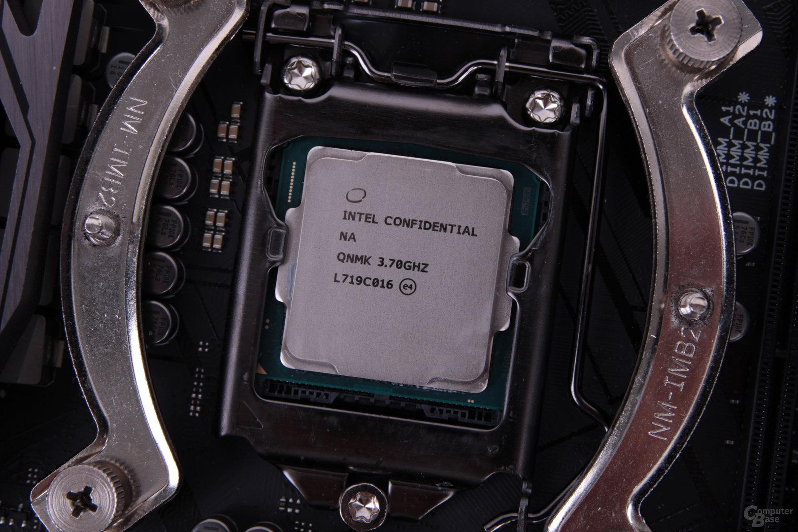 Der Core i7-8700K im neuen alten Sockel LGA 1151