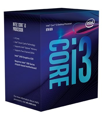 8th Gen Intel Core i3-8100 Box