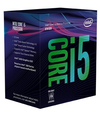 8th Gen Intel Core i5-8400 Box