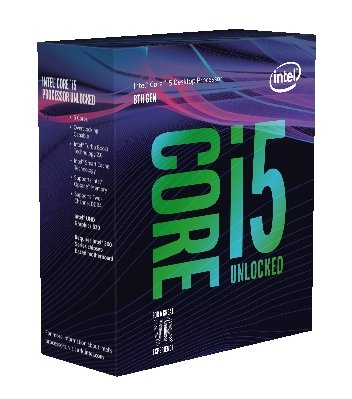 8th Gen Intel Core i5-8600K Box
