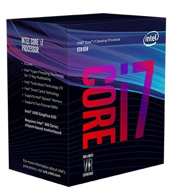 8th Gen Intel Core i7-8700 Box