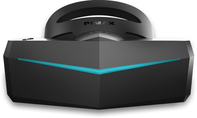 Pimax 8k mit 200 Grad horizontalem Sichtfeld
