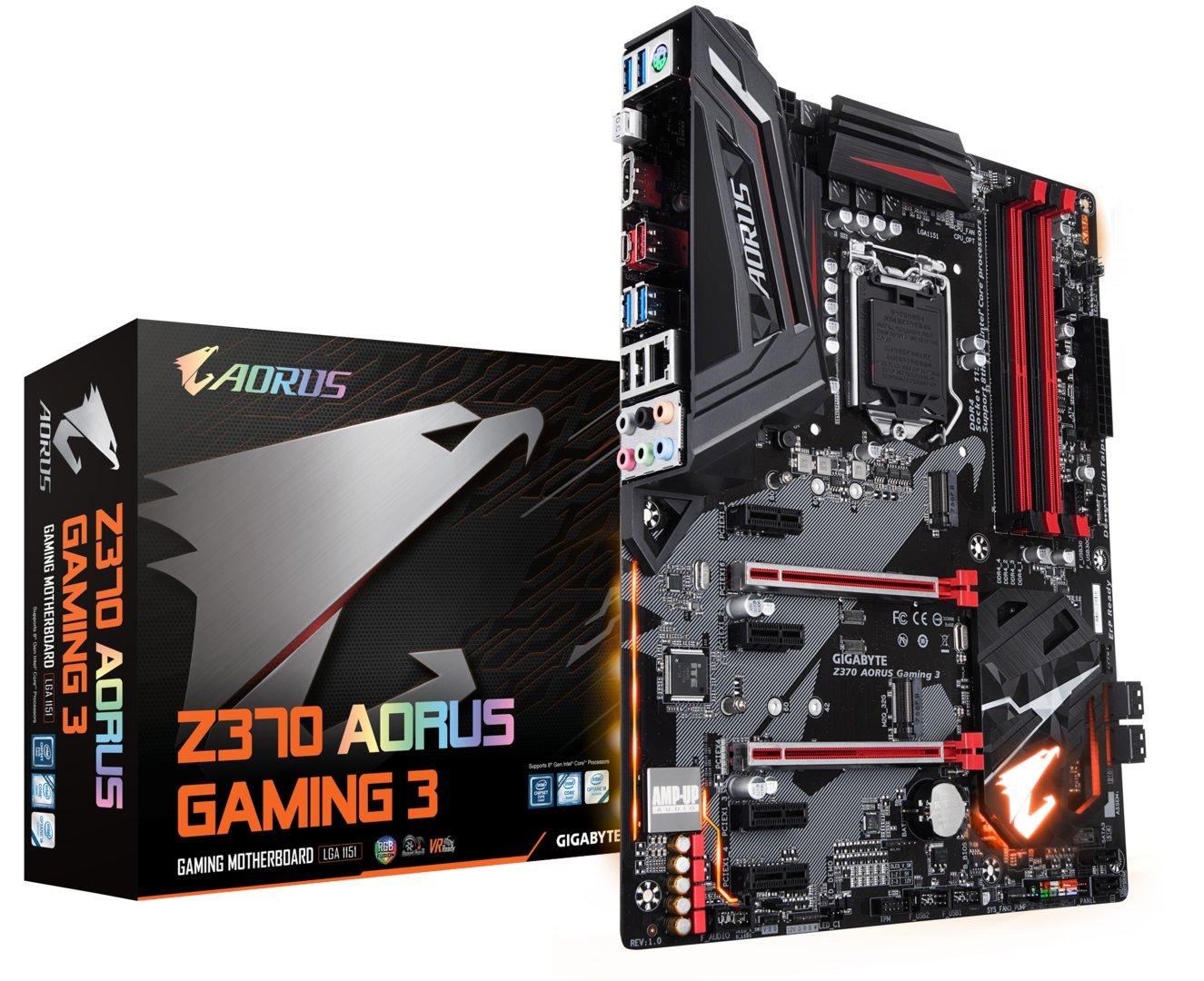 Gigabyte Aorus Z370 Gaming 3