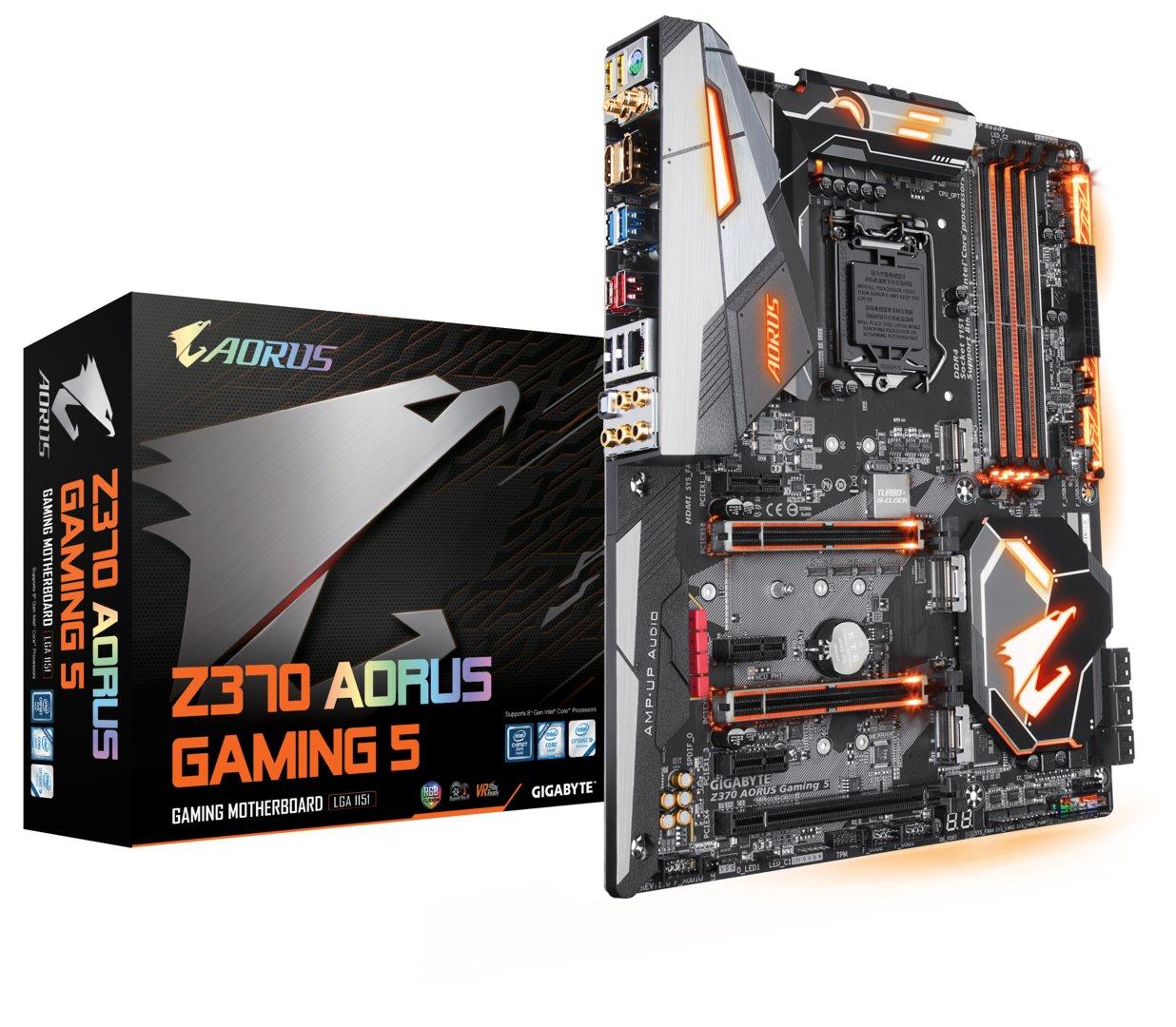 Gigabyte Aorus Z370 Gaming 5