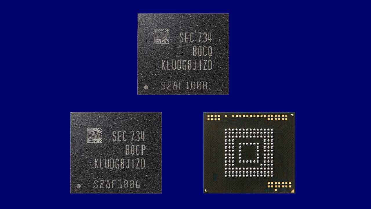 eUFS: Samsung produziert Universal Flash Storage für Autos