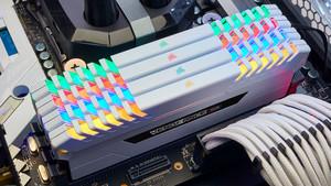 Corsair Vengeance RGB: Schneller DDR4-RAM nun auch mit Heatspreader in Weiß