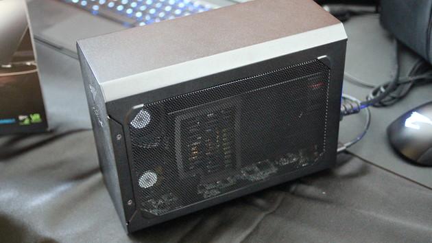 Aorus GTX 1080 Gaming Box: Gigabyte packt GTX 1080 Mini in eGPU-Gehäuse