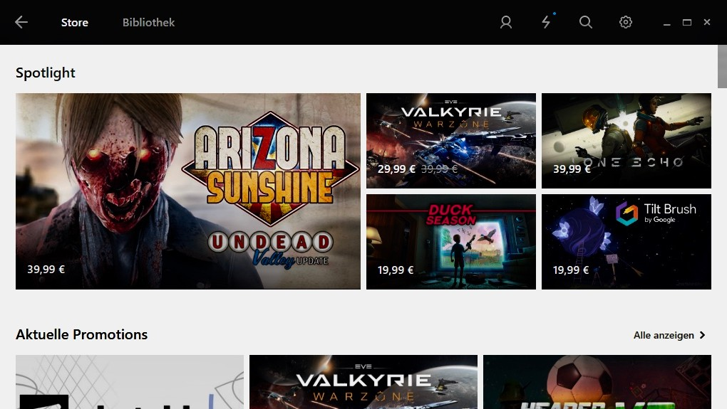 Rückgaberecht: Oculus Store schließt zu Steam auf