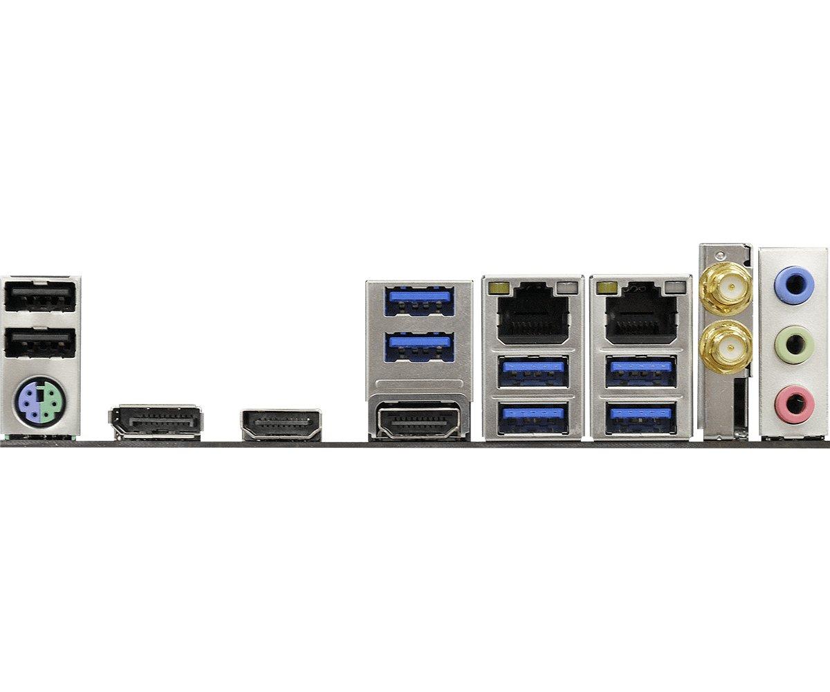 I/O-Blende am Z370M-ITXac