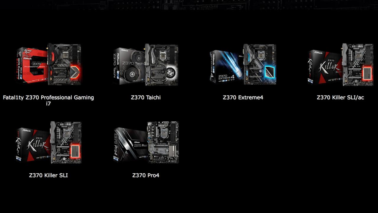 Z370-Mainboards: ASRock setzt auch auf 10-Gbit/s-Ethernet und Mini-ITX