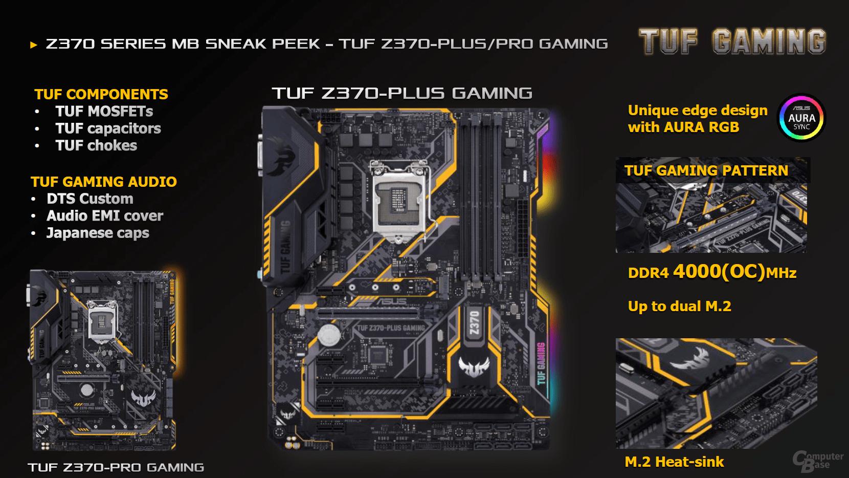 Asus TUF Z370-Pro/Plus Gaming