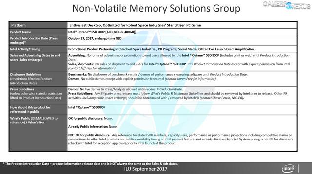 Intels Optane SSD 900P soll Ende Oktober vorgestellt werden