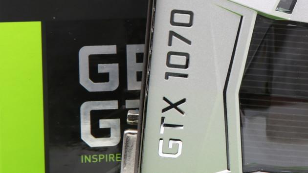 """GeForce GTX 1070 Ti: Nvidias """"GTX 1080 Light"""" erscheint am 26. Oktober"""