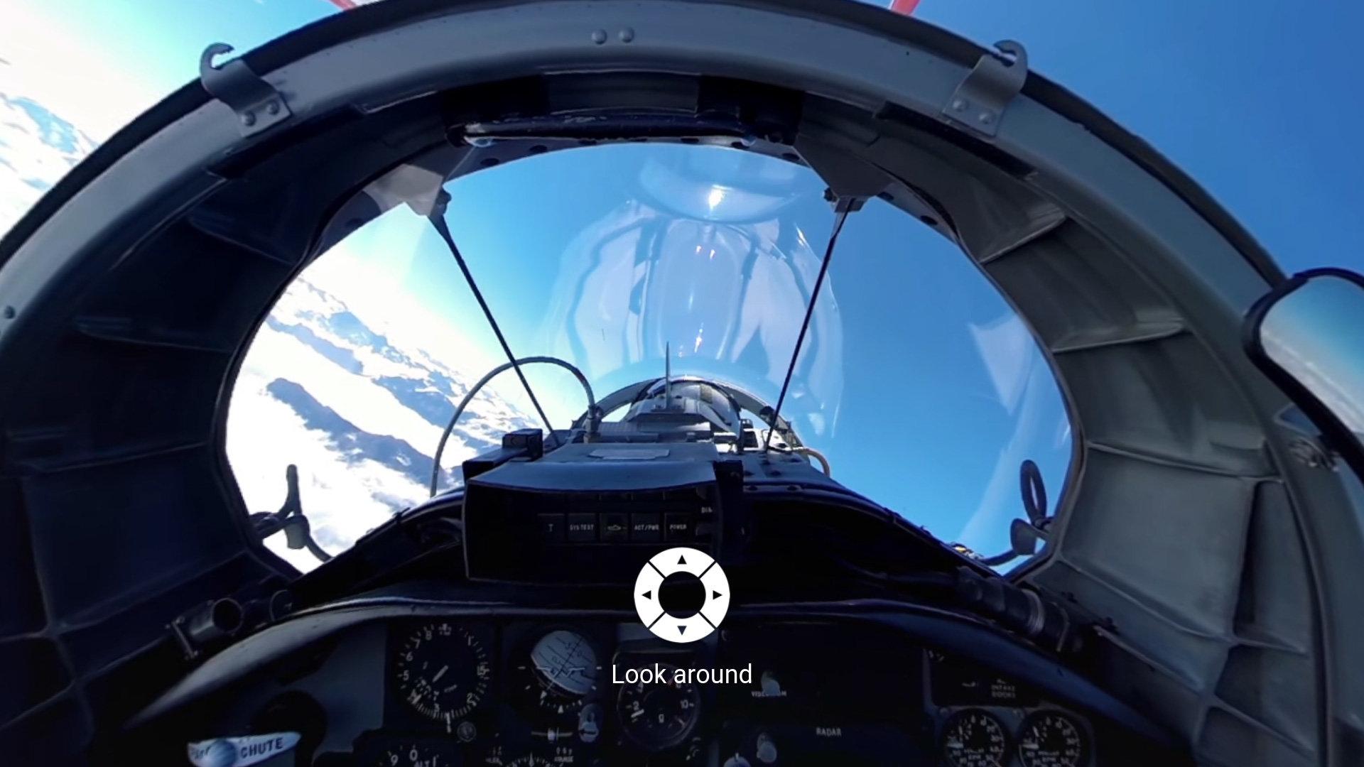 360-Grad-Videos in der YouTube-App