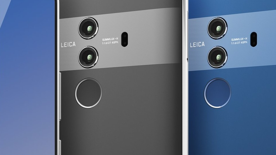 Huawei: Mate 10 Pro soll so aussehen