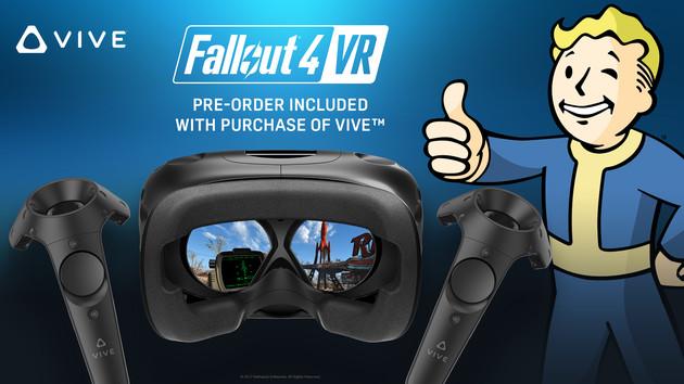 Bundle: Fallout 4 VR kostenlos beim Kauf der HTC Vive