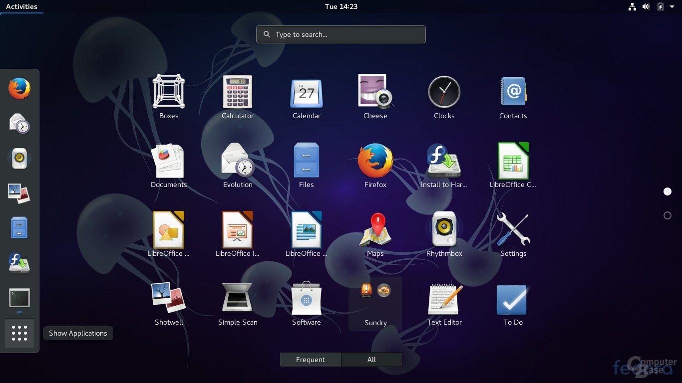 Fedora 27 Beta