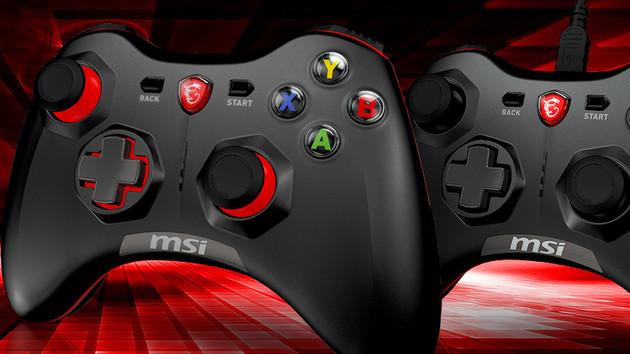 Force GC20 & GC30: MSI belebt das Xbox-360-Gamepad wieder