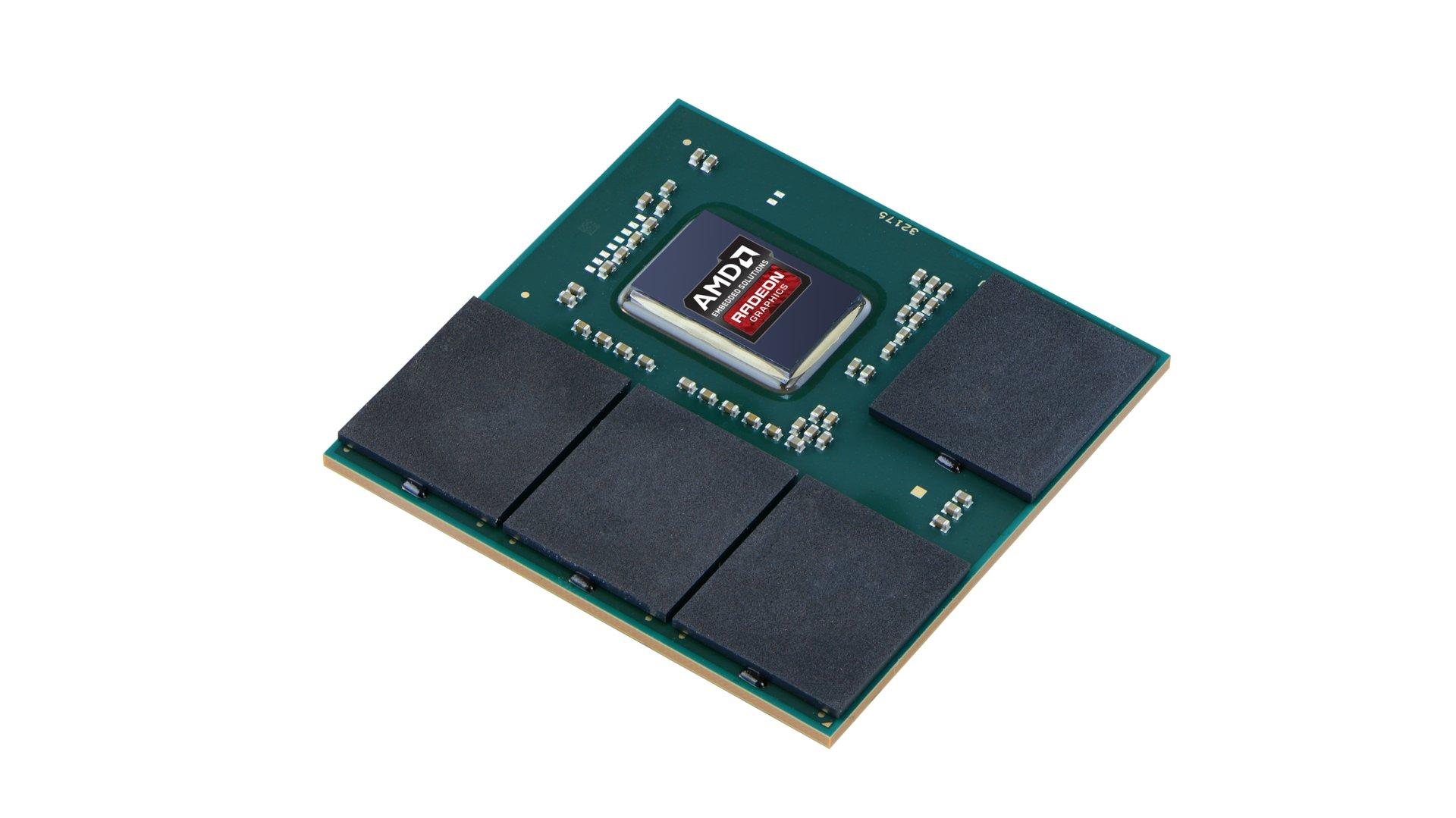AMD Radeon E9171 auf einem Multi-Chip-Modul