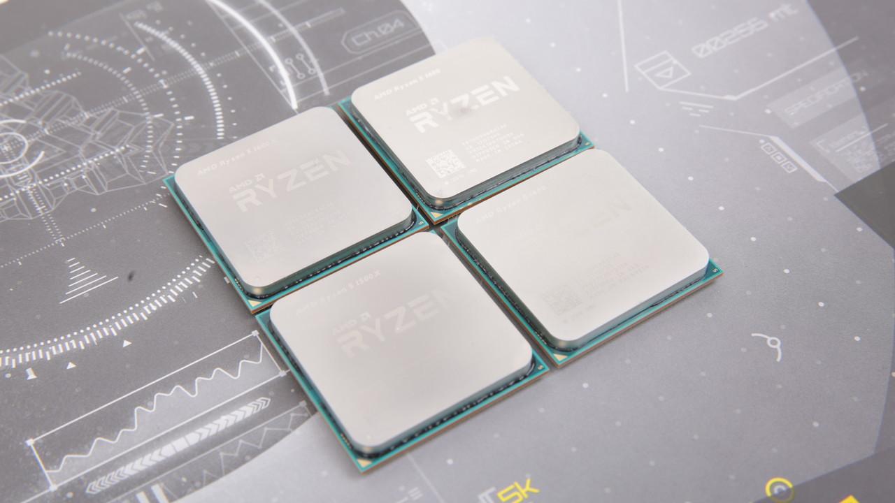 AMD Ryzen: 40 Euro Rabatt auf 1800X & 1700X, 30 Euro auf 1600X