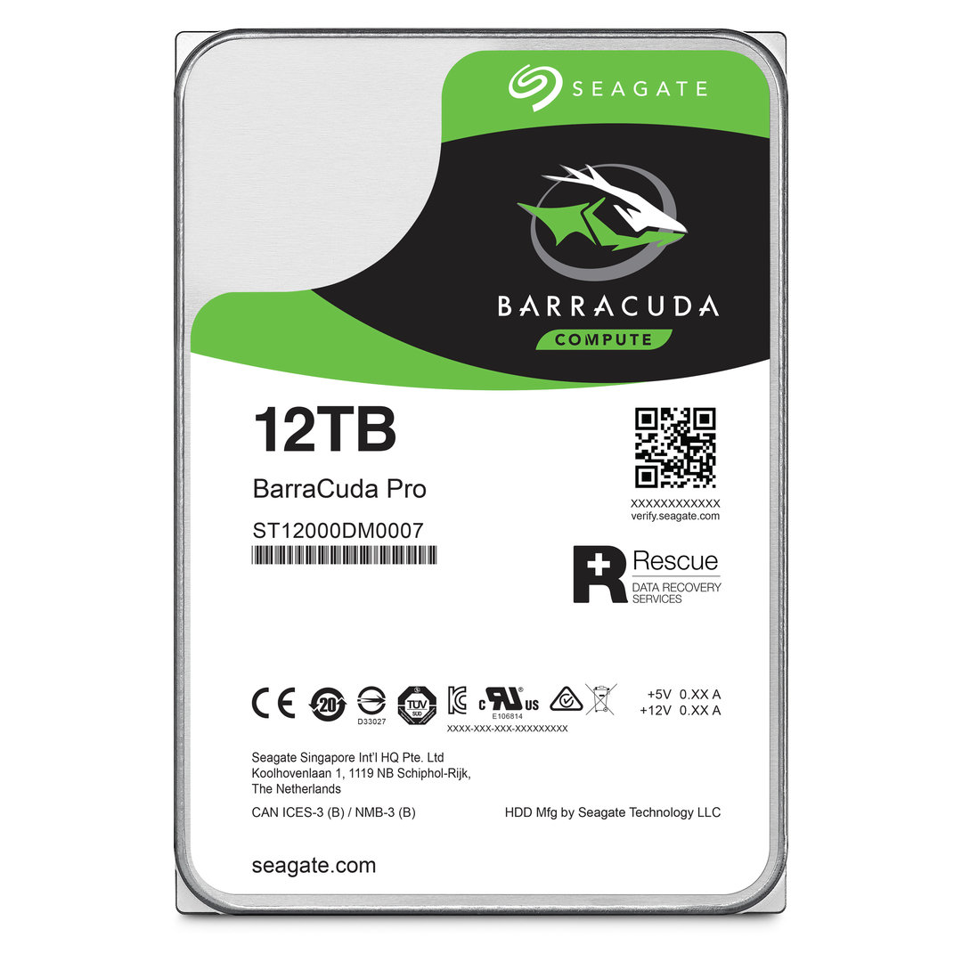 BarraCuda Pro 12 TB