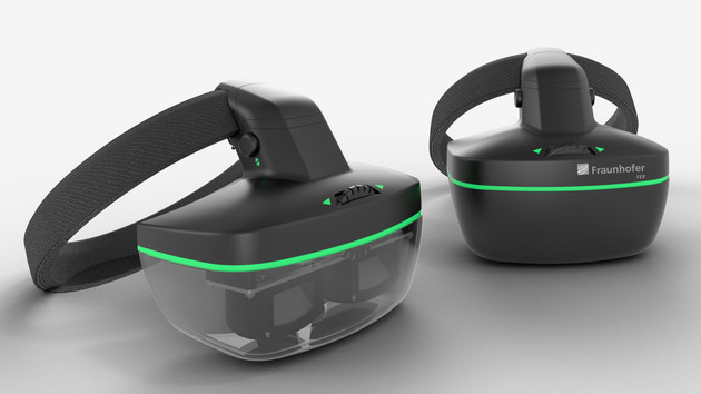 Bidirektionale Mikrodisplays: VR-AR-Brille verfolgt per OLED-Displays auch die Augen