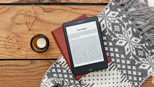 Tolino Epos: Wasserdichter E-Book-Reader mit 7,8 Zoll und Blaulichtfilter