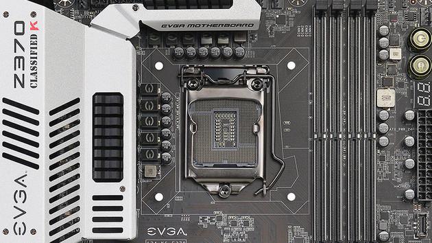 Z370-Mainboards von EVGA: Überholtes Classified K & FTW, Micro-ATX folgt auf Mini-ITX