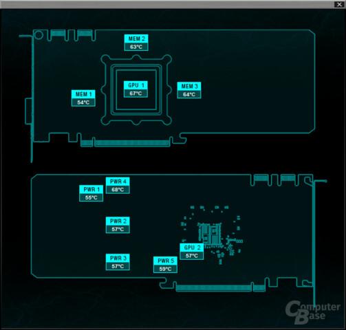 9 verschiedene Temperatursensoren mit Precision XOC