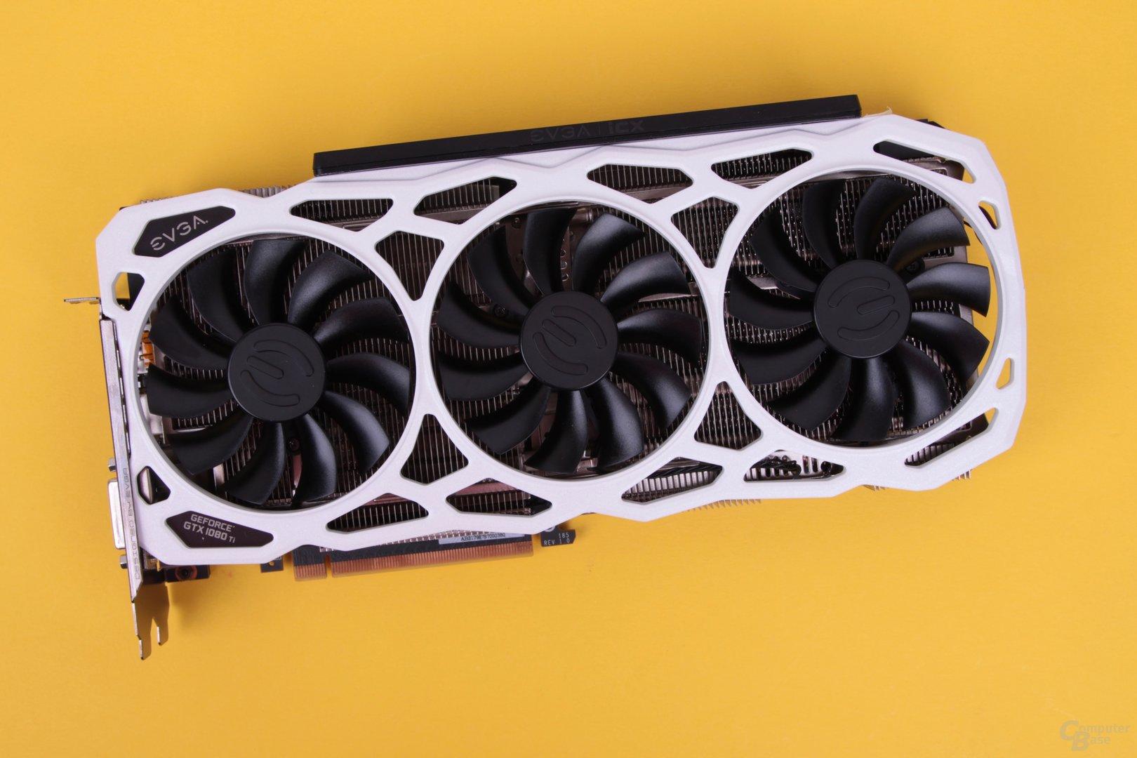 Die EVGA GeForce GTX 1080 Ti FTW3 Elite mit 6.000-MHz-GDDR5X im Test