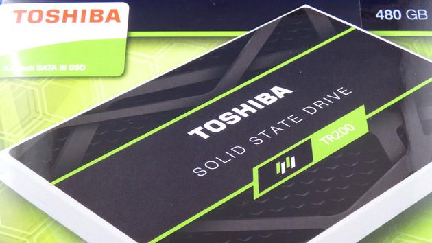 TR200 SSD: Toshibas neuer Einstieg mit 3D-NAND und ohne DRAM
