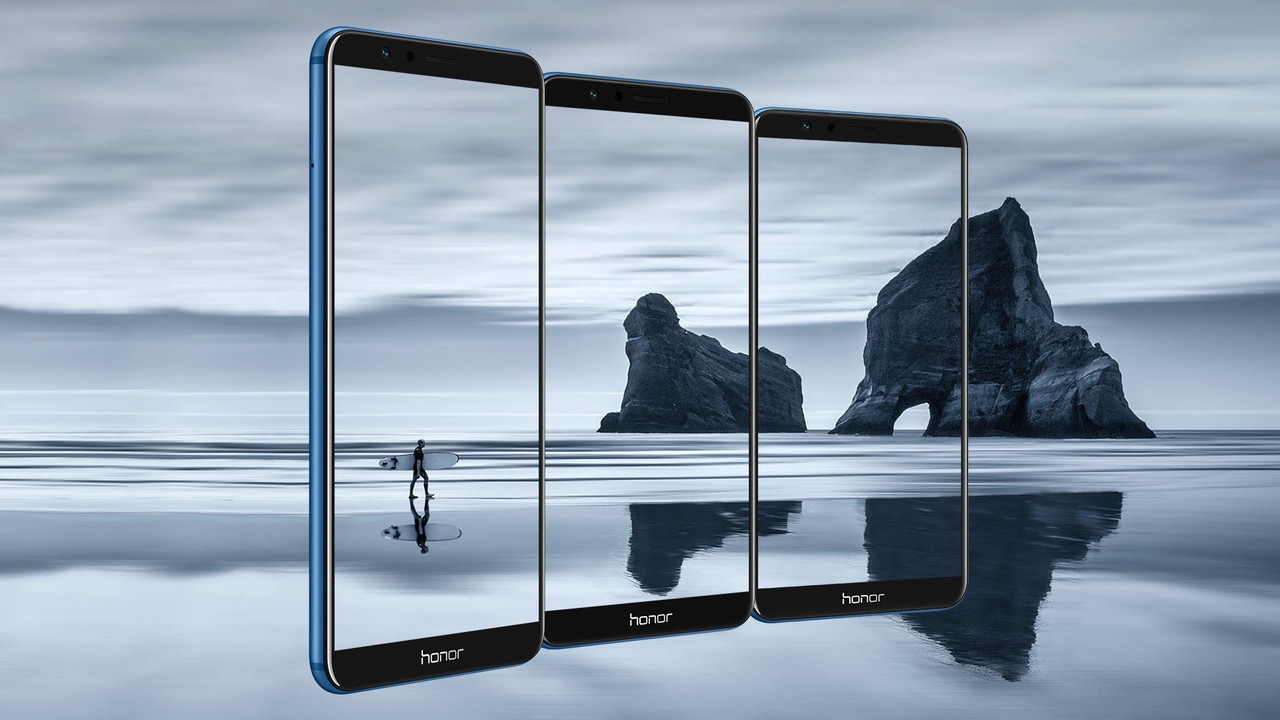 Honor 7X: 18:9-Display, Dual-Kamera und Micro-USB