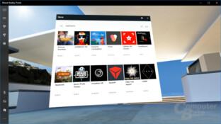 Erste Anwendungen für VR mit Windows Mixed Reality