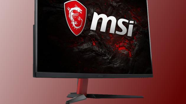 MSI Optix AG32C: Curved-Monitor mit Full HD und 165 Hz auf 32 Zoll