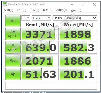 Samsung PM981 im CrystalDiskMark (unbestätigt)